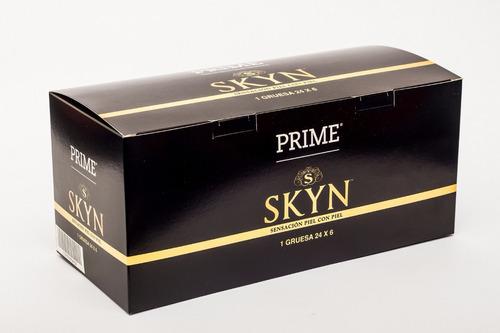 preservativos prime skyn x144 unidades sin latex mas calor