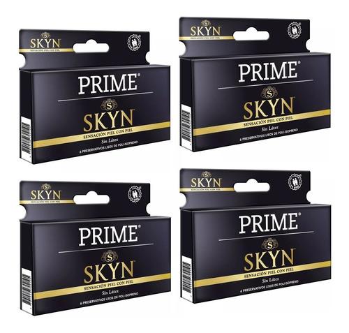 preservativos prime skyn x24 unidades sin latex mayor calor
