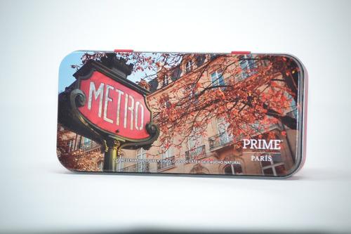 preservativos prime super fino x12 sexy box ciudades paris