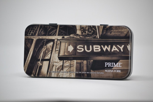 preservativos prime super fino x12 sexy box nueva york