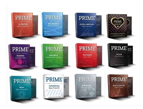 preservativos prime x12