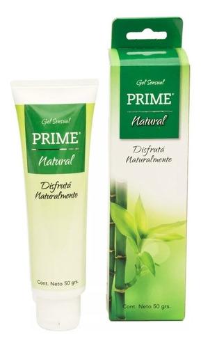 preservativos prime x24 stronger extra lub + gel natural 50g