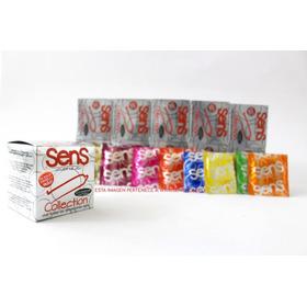 Preservativos Sens Colletion X10 - Unidad a $995