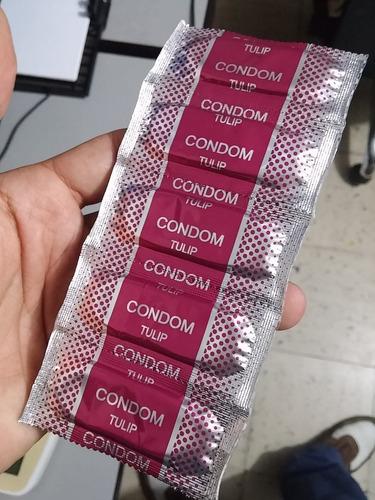 preservativos tulip caja paga 60 lleva 100 unidades condones