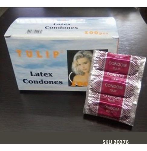 preservativos tulip  paga 60 lleva 100 unidades condon w11