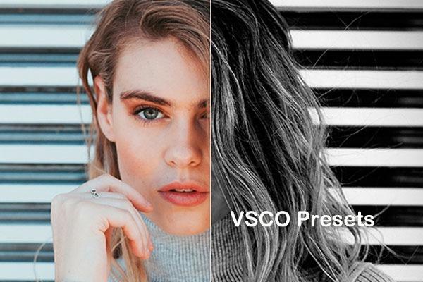 Presets Lightroom - Coleção Vsco + Totally Rad + Brinde