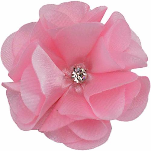 presilha flor de cetim pequena