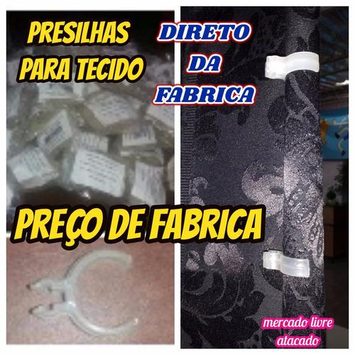 presilhas plastica p/ tela tecido painel e outros kit c/20