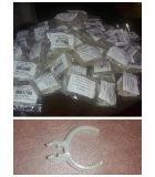 presilhas plastica p/ tela tecido painel e outros kit com 40