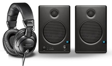 presonus ceres c4.5bt gratis!!! audífonos audio-technica