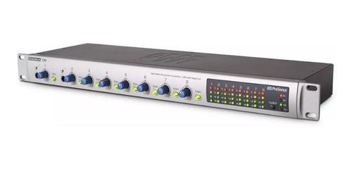 presonus digimax d8 pre amplificador class a / 8 canais