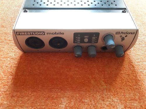 presonus firestudio mobile 10x6 firewire