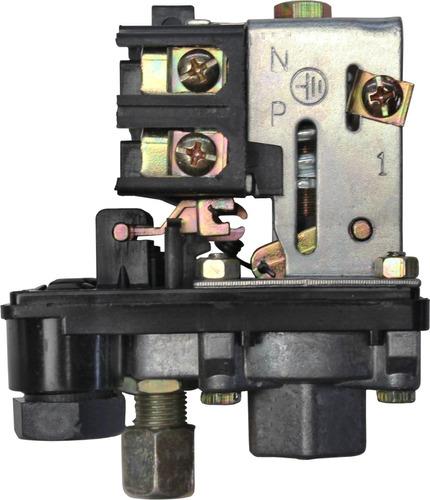 presostato automatico de boton 1 via 175psi para compresor