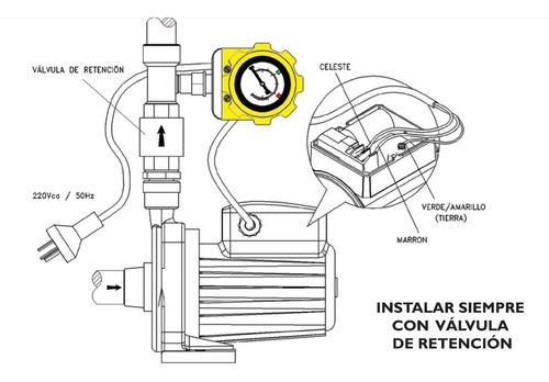 presostato electronico prelex motorarg. encendido bombas