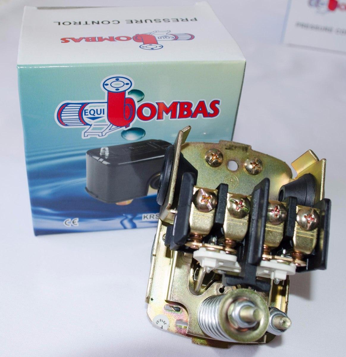 Presostato para hidroneum tico y bombas 60 80 psi bs 23 for Presostato bomba agua