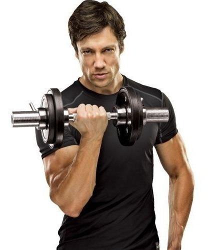 press banca 300 kg + barra olímpica + 80kg disco engomado er