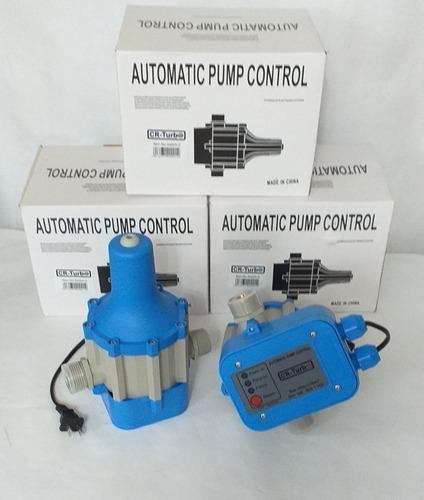 press control automatico bomba de agua cr turbo