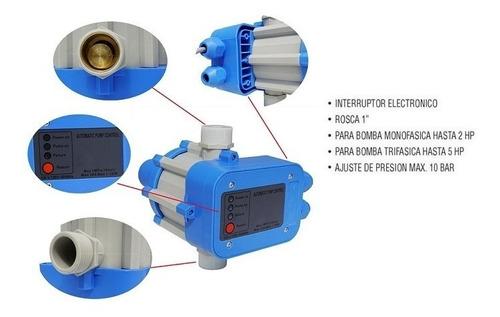 press control automático electrónico presión 2 hp - tyt