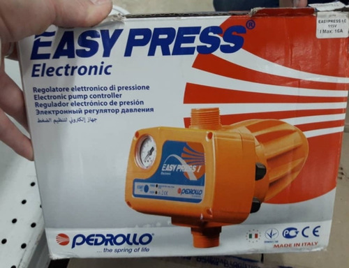 press control pedrollo para bombas de agua pedrollo