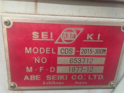 press machine cds-2015-300m abe seiki co., ltd