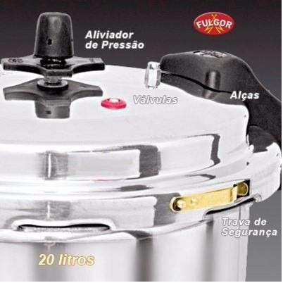 pressão alumínio panela
