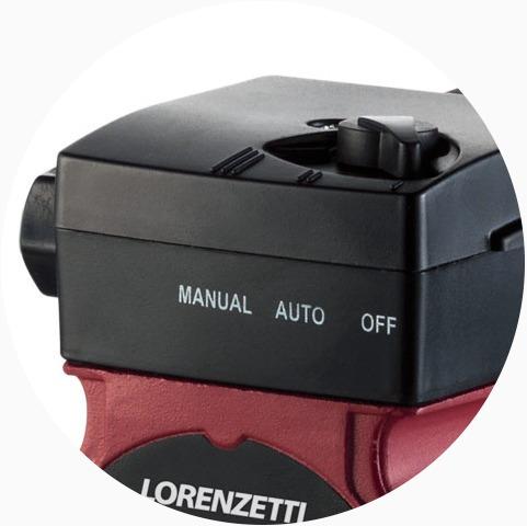 pressurizador bomba d/ água lorenzetti fluxostato mini pl09