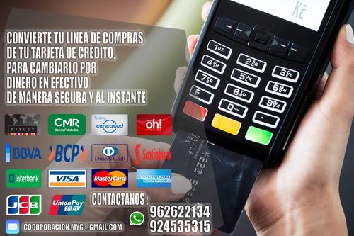 prestamos utilizando tarjetas de crédito 924535315