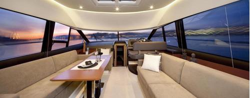 prestige 500 fly 2017 bandera argentina barco  crucero unico