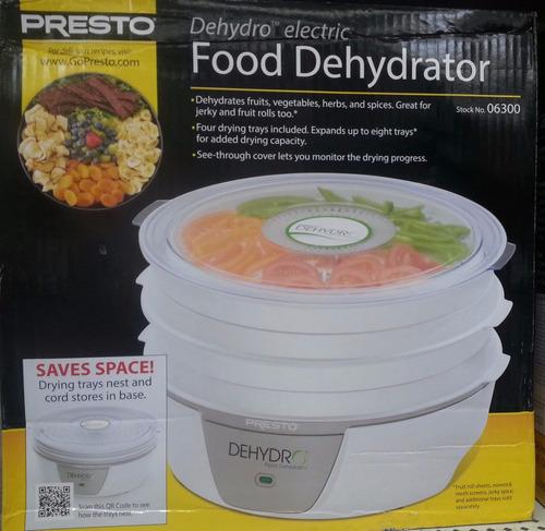 presto deshidratador de alimentos envio inmediato