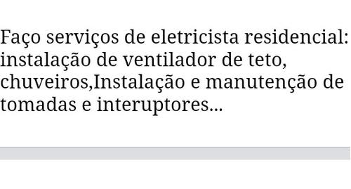 presto serviço de eletricista residencial em pedro leopoldo