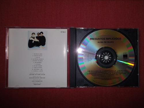 presuntos implicados - alma de blues cd usa ed 1989 mdisk