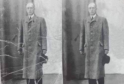 presupuesto restauración digital de fotografías antiguas.