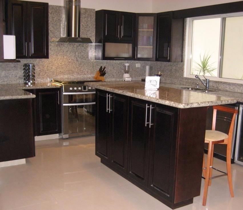 presupuestos cocinas integrales de lujo con granito