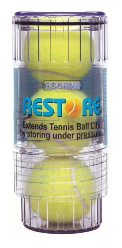 presurizador de pelotas de tenis restaura presión