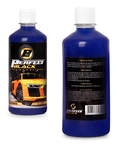 pretinho extreme perfect black 500 ml