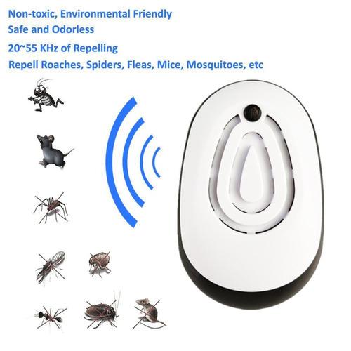 preto ultrasonic multifuncional do assassino mosquito contro