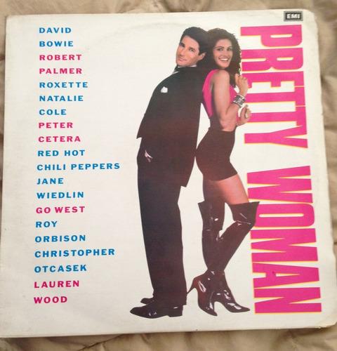 prett woman soundtrack vinilo lp