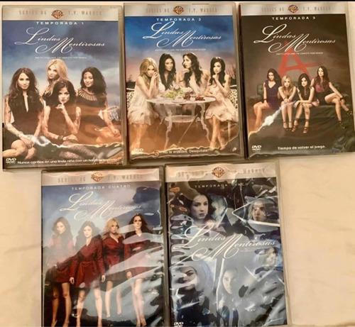 pretty little liars temporadas 1-5 (dvd)