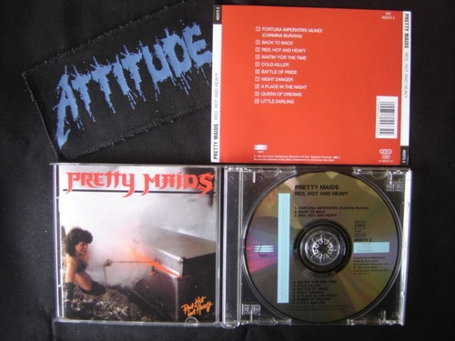 pretty maids (din) - red hot and heavy - importado