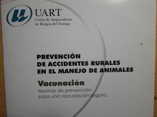 prevención accidentes rurales-manga y vacunación-2 dvd -m.b.