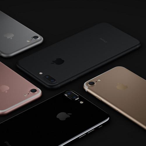 preventa apple teléfono celular iphone 7 black 128gb