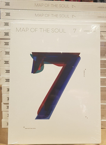 preventa bts map of the soul 7 cd nuevo importado aleatorio