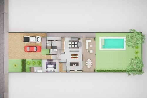 preventa de residencias de 2 plantas, en la mejor zona, mirova dzityá.