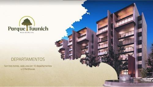 preventa departamentos en residencial tuunich tipo a torre ii
