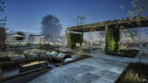 preventa - especial para amantes de la naturaleza. 2 recámaras con baño, 2 terrazas. bello