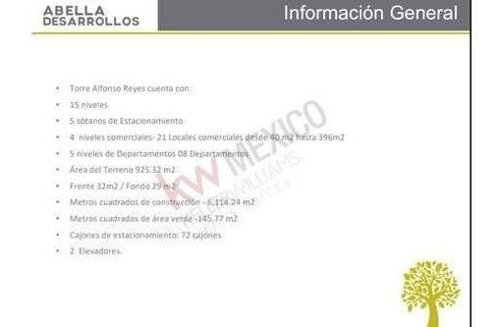 preventa local comercial ave. alfonso reyes