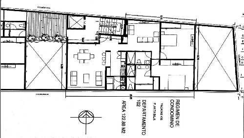 preventa narvarte, bonito y amplio departamento en primer piso