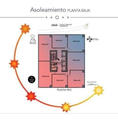 preventa oficinas en torre ejecutiva cerca de hospital puebla, zona angelópolis
