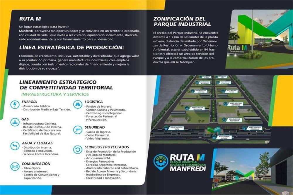 preventa - parque industrial ruta m - manfredi!!!!
