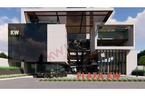preventa plaza  comercial  kw en residencial san agustin, san pedro garza garcia